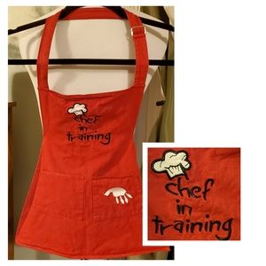 "Other - 2/$20 ""Chef in Training"" Kid's Apron"